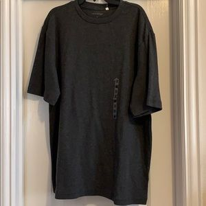 Men's Croft & Barrow ribbed grey shirt, Size M